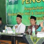 Kiai Hafidz Taftazani Pengurus Pusat Asbihu PBNU menyampaikan bahaya Wahabi dalam diskusi yang digelar di Gedung PWNU Jalan Dr Cipto 180 Semarang.