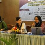 Dari kiri ke kanan: Dewi Kanti, Hendira Ayudia Sorenti dan Siti Rofiah