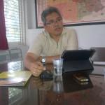 Pendeta Rahmat ketika menyampaikan beberapa kegiatan Gereja Gereformeerd, Semarang (29/4)