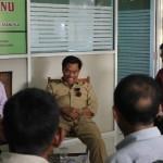 Pihak GITJ saat beraudiensi dengan Wakil Bupati Jepara