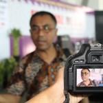 Ketua Umum Aliansi Jurnalis Independen (AJI) Indonesia, Eko Maryadi