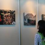 Anastasya Aprilia, salah satu pengunjung pada festival media AJI