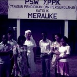 Yayasan Pendidikan dan Persekolahan Katolik di Merauke (sumber: kitlv.nl)