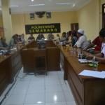 Pertemuan di Mapolrestabes Semarang (Foto: waktunews.com)