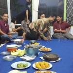 Menu makan malam selepas Halal Bihalal di Kantor eLSA