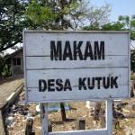 Makam Desa Kutuk Kecamatan Undaan Kabupaten Kudus. [Foto: M. Rosyid]
