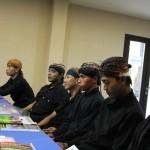 Warga Sedulur Sikep Kudus sedang mengikuti pelatihan mengenai hak warga negara. [Foto: Salam]