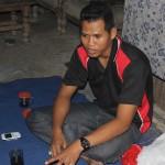 Warjo, salah seorang warga Sapta Darma. [Foto: Ceprudin]