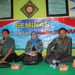 Kepala Kesbangpol Kabupaten Brebes, Joko Heriyanto (pegang mic) Foto: Abdus Salam