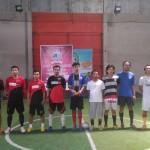 Tim Futsal eLSA melakukan sesi foto bersama saat akan bertanding melawan tim GusDurian Semarang. Foto: Wahib