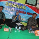 Kepala Sub Bidang Pemajuan HAM, Kanwil Kemenkum HAM Jawa Tengah, Siti Yulianingsih (berkerudung biru). Foto: Abdus Salam