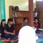 Pelatihan sablon bagi Sedulur Sikep Kudus, Sabtu (16/1/16). [Foto: KA]