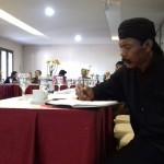 Tokoh penganut agama Adam atau Sedulur Sikep Kabupaten Kudus, Budi Santoso. [Foto: KA]