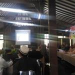 sarasehan 'Jaringan Aktor dan Kelompok Toleran Jawa Tengah tentang Perlindungan Kebebasan Berekspresi dan Kebebasan Beragama/Berkeyakinan' di Kampoeng Percik, Desa Turusan, Kota Salatiga. Foto:  Munif