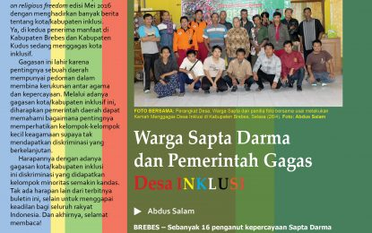eLSA Report on Religious Freedom LIV