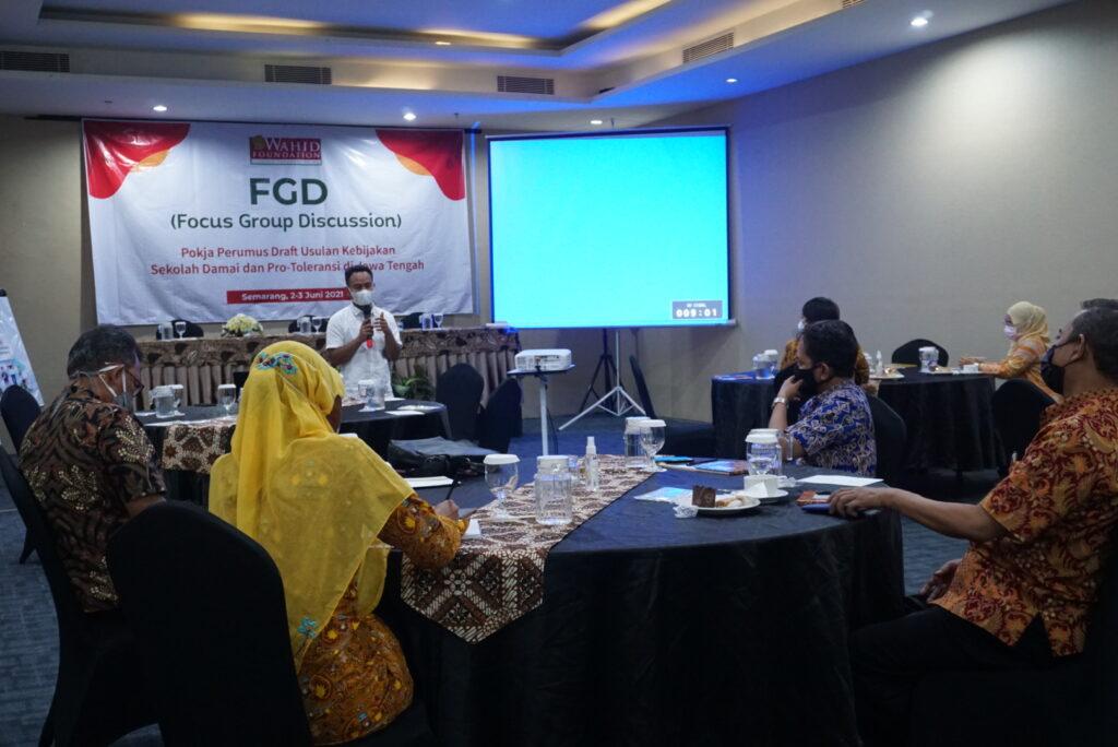 Mantapkan Program Kerja Sekolah Damai, Wahid Foundation Bahas Pokja Sekolah Damai dan Pro Toleransi
